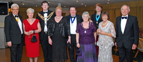 Newquay Towan Blystra Lions Charter Celebration 2013